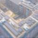 Große PV-Anlage auf einem Dach