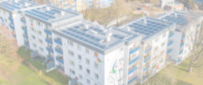 PV-Anlage auf Mehrfamilienhäusern