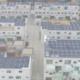 Zahlreiche Mehrfamilienhäuser mit PV
