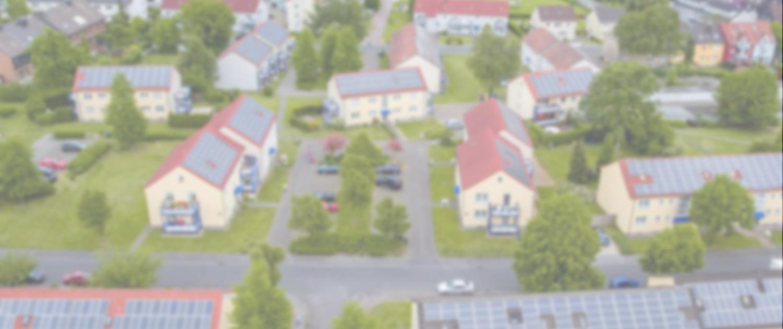 PV-Anlagen auf mehreren Mehrfamilienhäusern