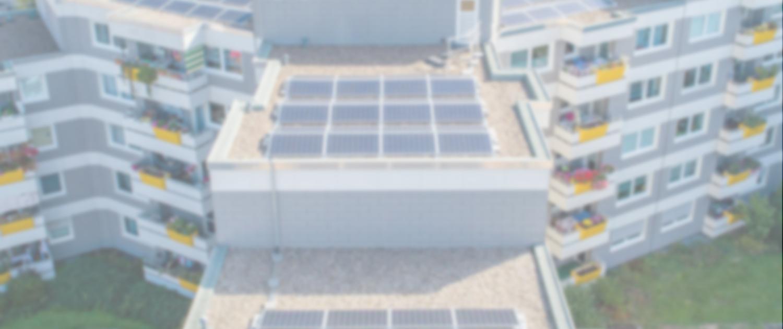 PV-Anlage auf Dach in Duisburg