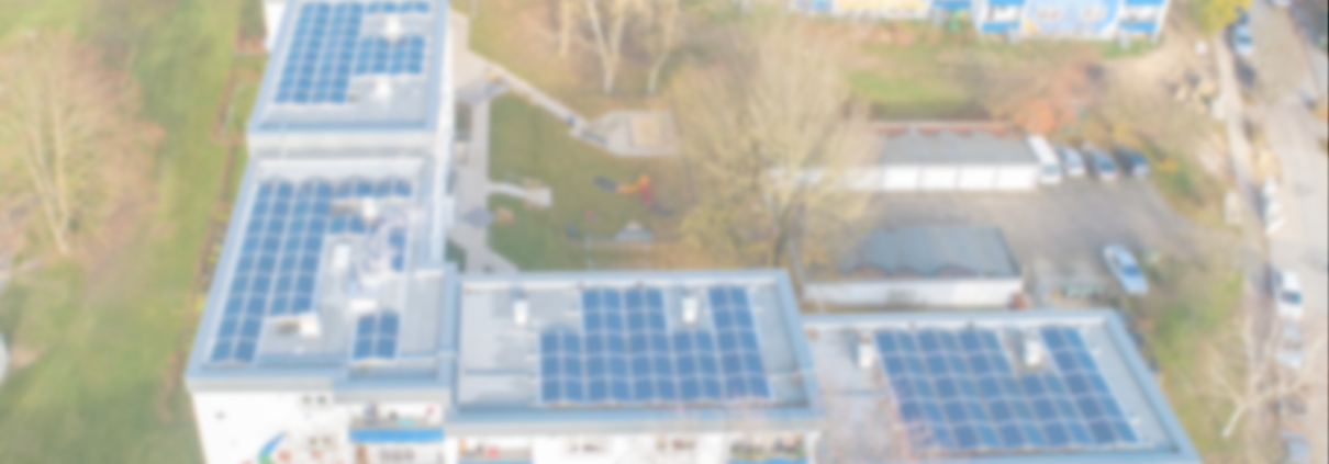 PV-Anlage auf Gebäude einer Genossenschaft