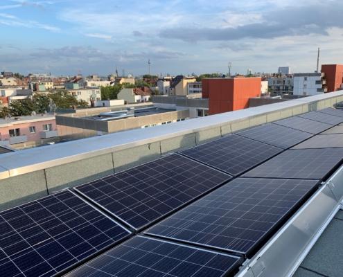 Solaranlage auf Adolfstr. 4, Berlin Nettelbeckplatz