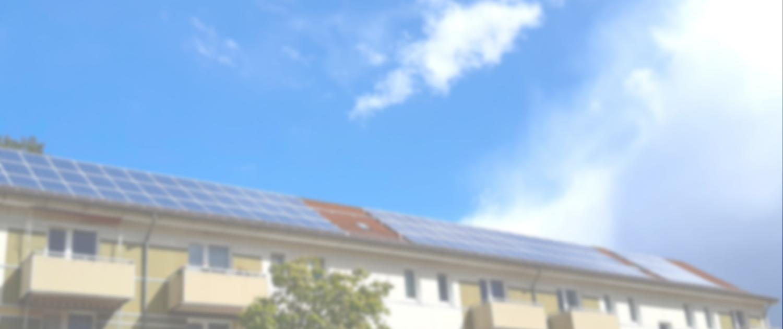 PV-Anlage auf Gebäude