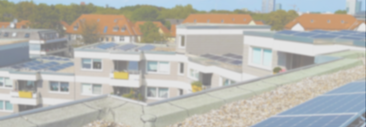 PV-Anlage auf dem Dach