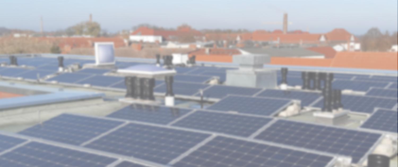 PV-Anlage auf Dach