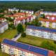 PV auf mehreren Mehrfamilienhäusern in Rheinsberg
