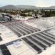 Solaranlage auf Gewerbe ohne Grauschleier