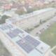 Solaranlage in Sachsen-Anhalt von oben