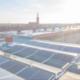 PV-Aufdachanlage auf Mietimmobilie bei Sonnenschein